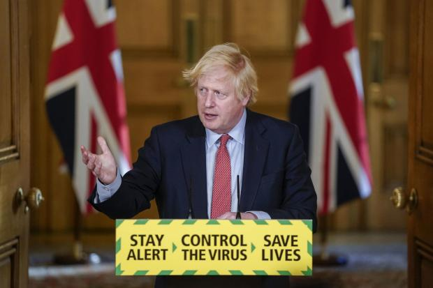 Prime Minister Boris Johnson has announced that six people can meet