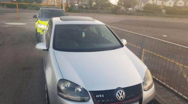 This vehicle was caught doing 145mph on the M61 near Chorley by an unmarked police car