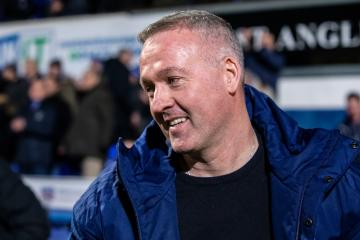 Photo related to Ipswich boss Paul Lambert: PPG likely for Wanderers and League One