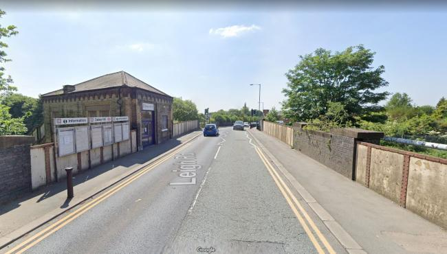 The Daisy Hill railway bridge on Leigh Road. Picture: Google Maps