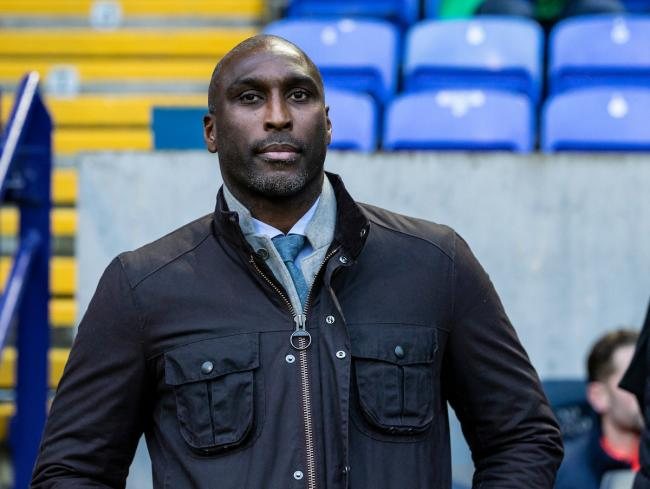 Sol Campbell has been in charge at Southend United since last October