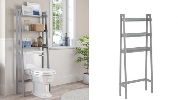 The Bolton News: Over-the-toilet units provide a lot more storage space. Credit: Wayfair
