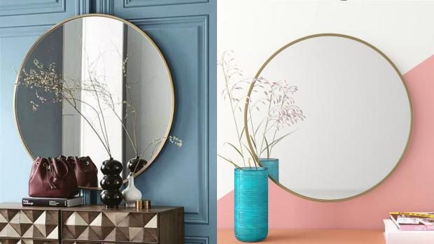The Bolton News: A bigger, more modern mirror will create the illusion of more space. Credit: Wayfair