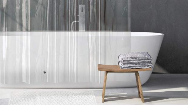 The Bolton News: A clean shower liner will make your bathroom much more welcoming. Credit: Amazon