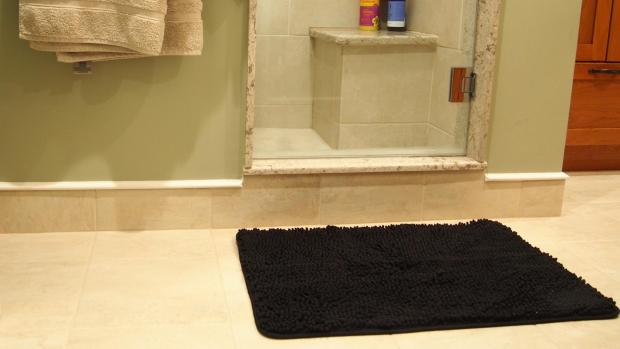 The Bolton News: A stylish bath mat can brighten up your space. Credit: Reviewed / Kori Perten