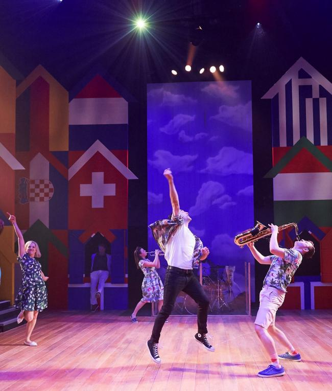 Octagon Theatre's Summer Holiday. Picture Richard Lakos