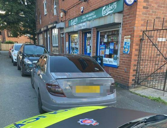 Mercedes driver stopped in Bolton
