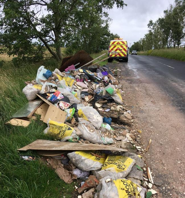 RUBBISH: Bolton Council appeal for help to catch flytippers