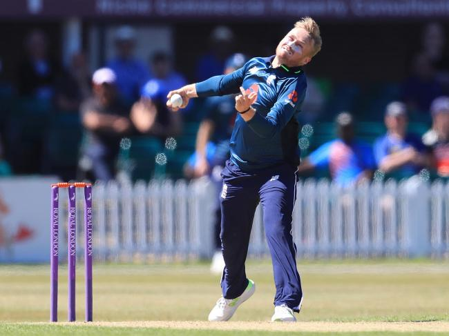 Bolton leg spinner Matt Parkinson is out of England's one day international series with Ireland