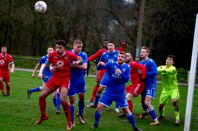Prestwich Heys and Nelson do battle in a NWCFL game last season