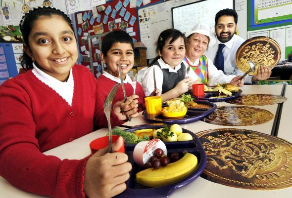 School dinners in Bolton win award for healthy eating