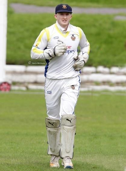 Golborne wicketkeeper Ciaran Vesey made 62 in his side's victory over Tonge at the weekend. Pictures: Harry McGuire