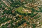 St Thomas of Canterbury RC School from the air