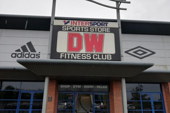 The DW Fitness gym in Bolton