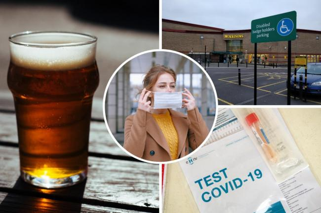 Authorities in Greater Manchester promise to crackdown on pubs and supermarkets not following the new coronavirus rules