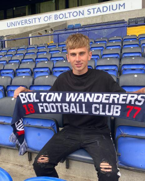 Jak Hickman is looking to kick-start his career at Bolton Wanderers