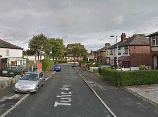 Tulip Avenue in Farnworth. Picture: Google Maps