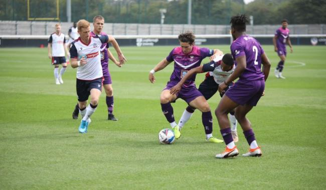 Action from Wanderers' victory at Loughborough University. Picture: Peter Simmons 5or6 Design