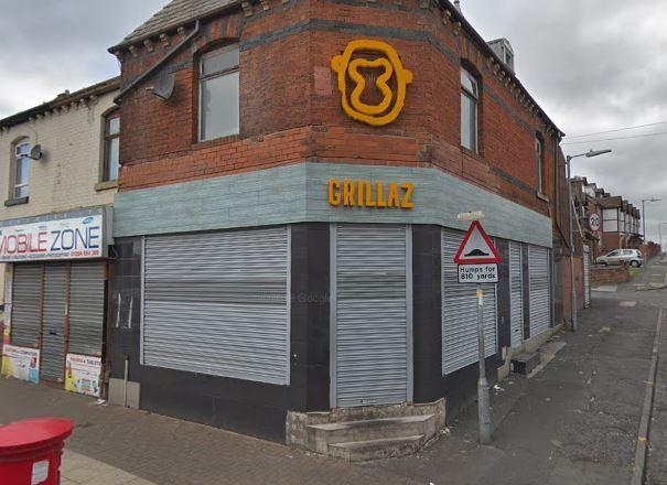 Grillaz restaurant in Bolton which had been shut down for breaching coronavirus regulations. Photo: Google Maps