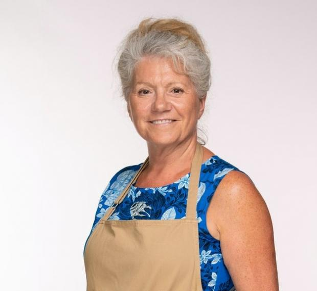The Bolton News: Retiree Linda will put her culinary skills to the test in the latest series of The Great British Bake Off (C4/Love Productions/Mark Bourdillon)