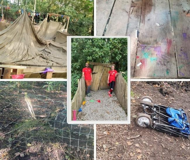 Around £1,000 of damage caused to Hedgehogs Woodland Adventure in Horwich