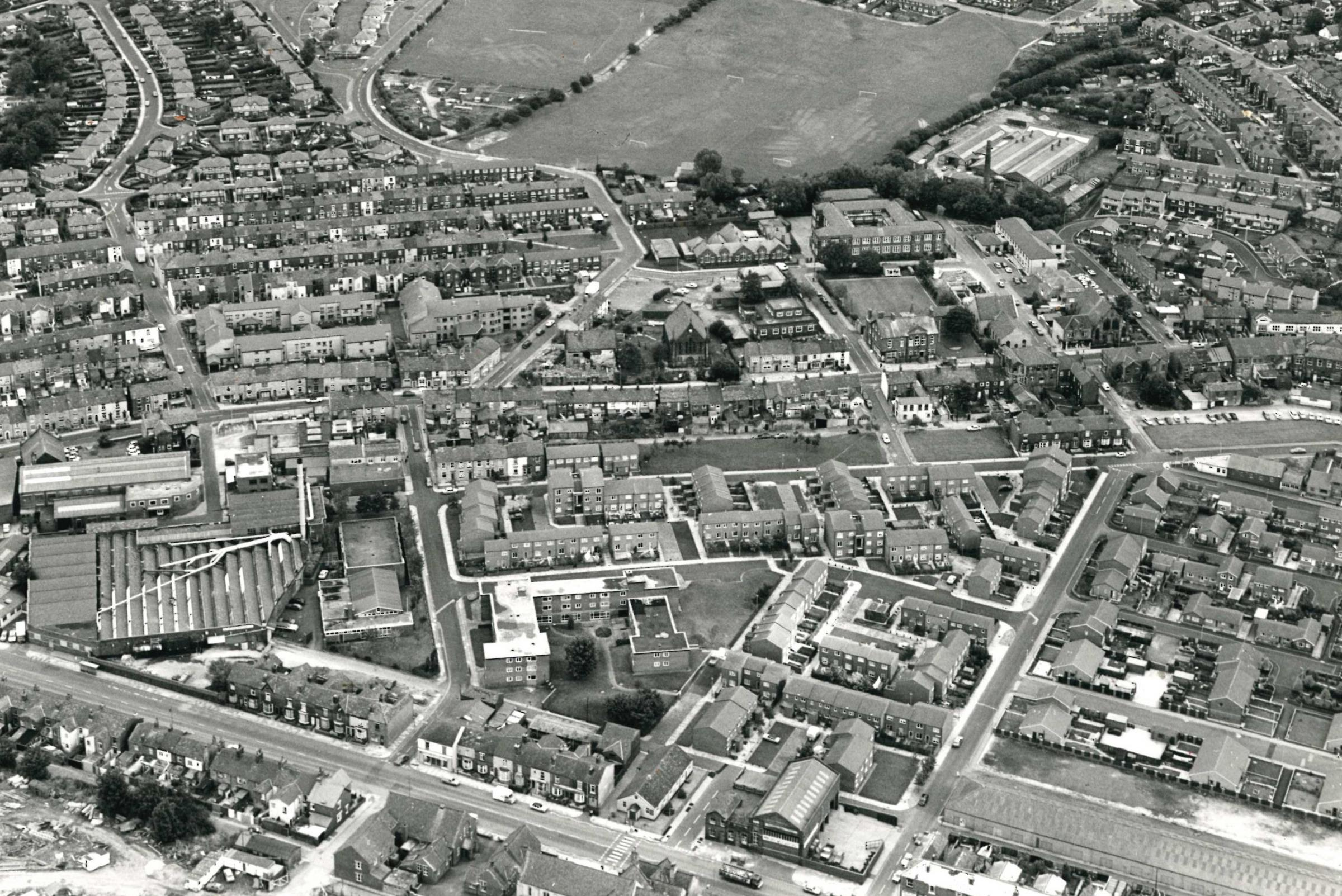 So you think you know Horwich, what can you see from the air?
