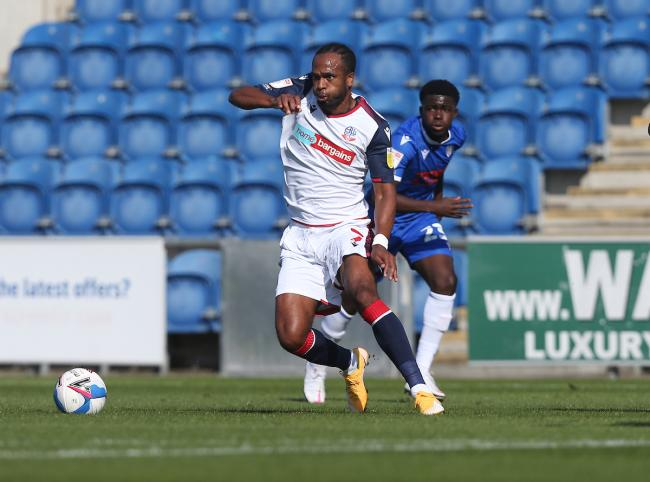 Nathan Delfouneso played wider on the left against Colchester United