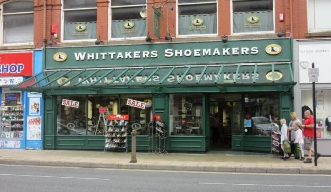 Whittakers Shoemakers in Bolton