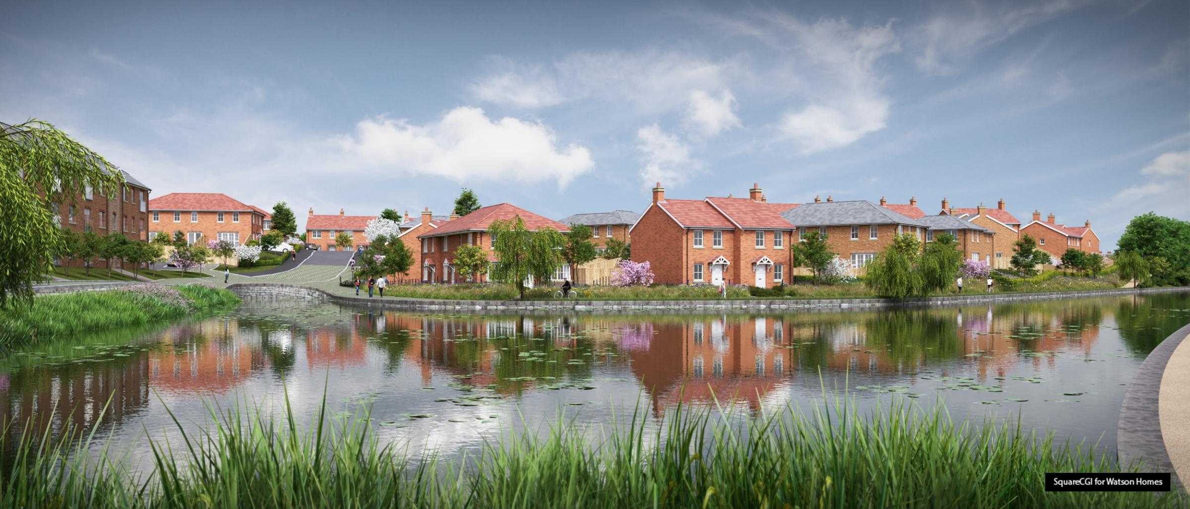 Plans for new Creams Mill and Hall Lane estate in Little Lever - The Bolton News