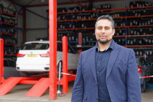 Azhar Iqbal, managing director of Colne-based Tyreoo.