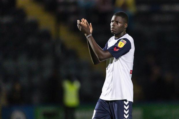 Yoan Zouma is unhappy at the treatment he received from Wanderers after a trial spell