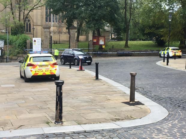 Cordon in place in Churchgate following an attempted rape