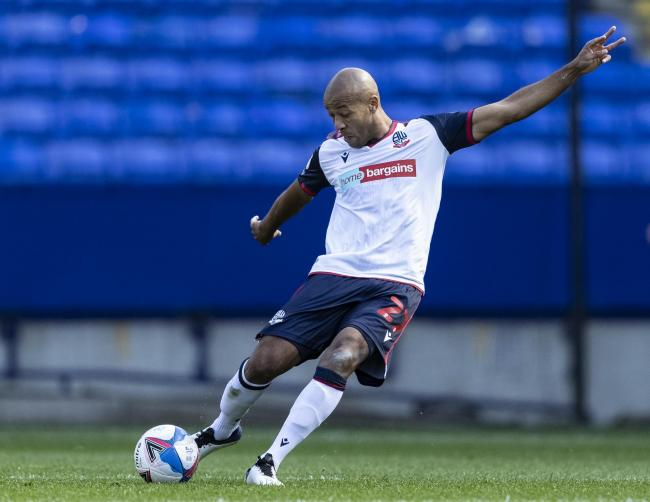 Alex Baptiste is back in training for Bolton Wanderers