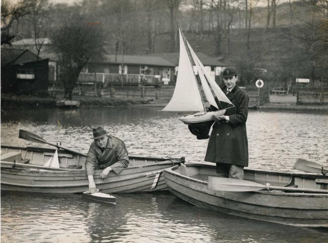 Looking Back: Getting all ready to set sail at Barrow Bridge 11915387