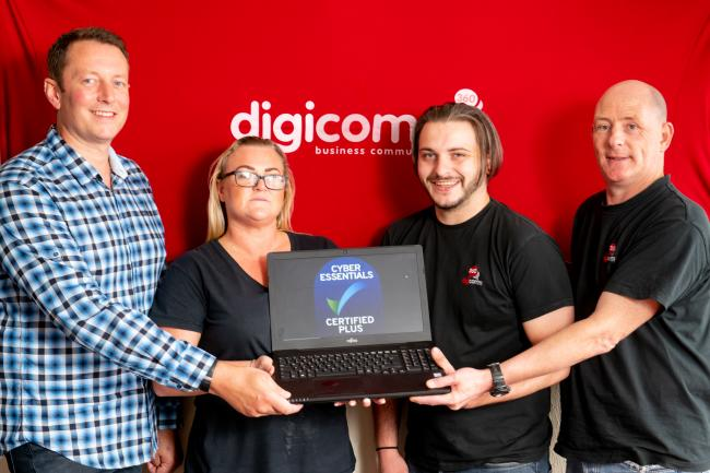 PLEASED: The Digicomm team