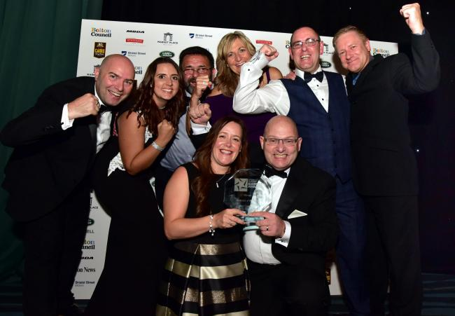 FLASHBACK: Darts Corner, Bolton Business of the Year winner 2018
