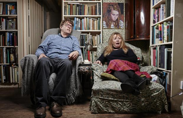The Bolton News: Giles and Mary. Picture: Channel 4