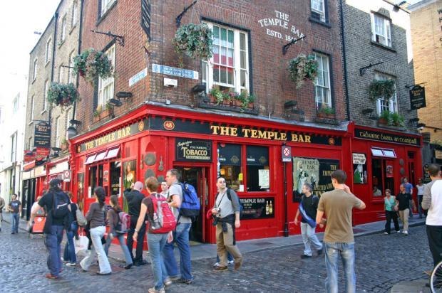 The Bolton News: Temple Bar Pub in Dublin