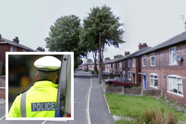 Officers were called to firearms threats on Firwood Crescent (main image: Google Maps)
