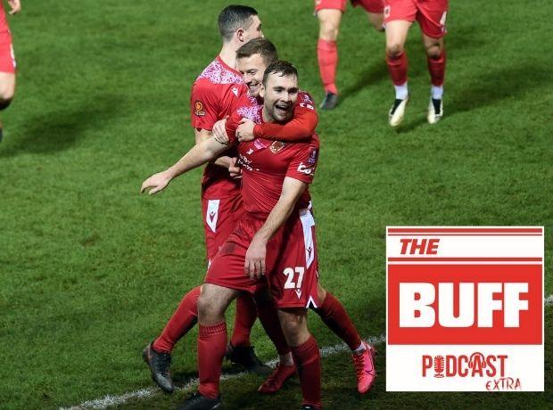 Ex-Wanderers striker Connor Hall joins The Buff podcast this week