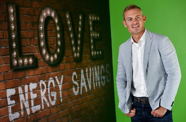 PLEASED: Phil Foster, managing director of Love Energy Savings