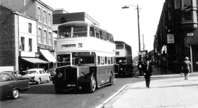 Double decker on Bradshawgate