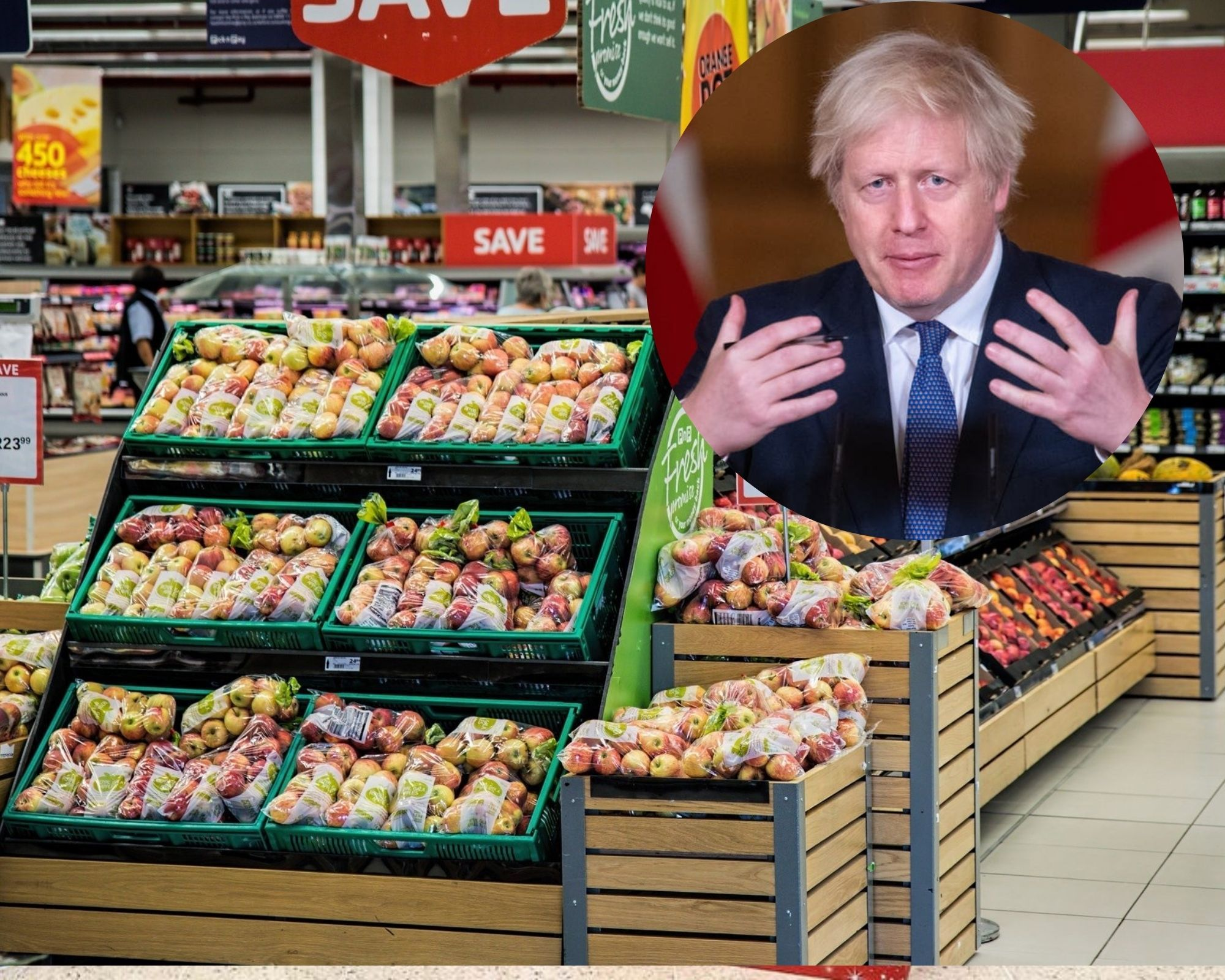 PM's warning about coronavirus risk by handling items in supermarkets