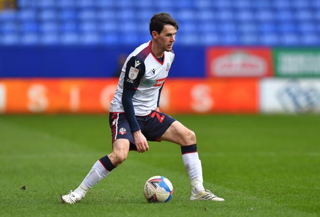 Kieran Lee should be in contention for a place in the Wanderers side at Mansfield Town