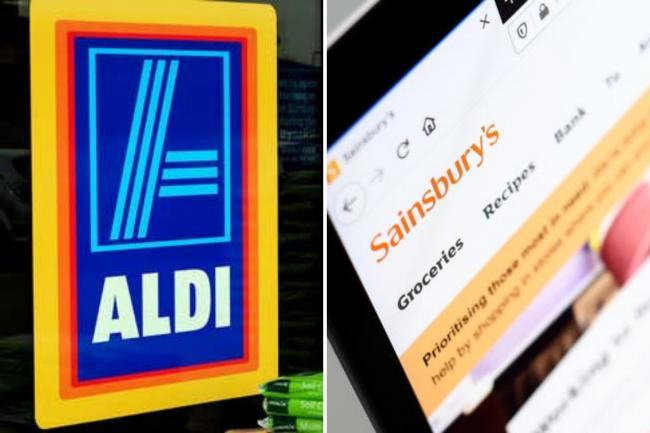 Aldi and Sainsbury's come out on top for UK's favourite supermarkets