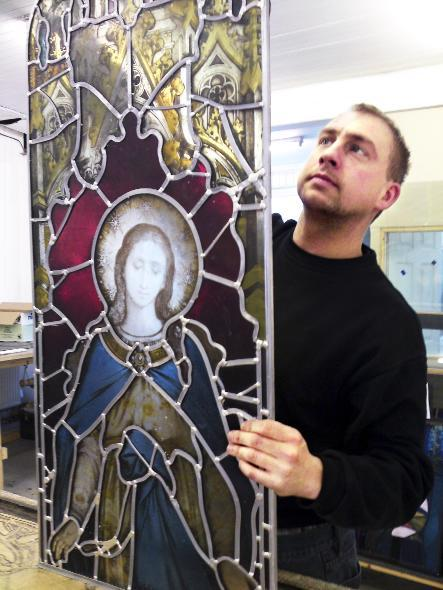 High praise for stained glass window company