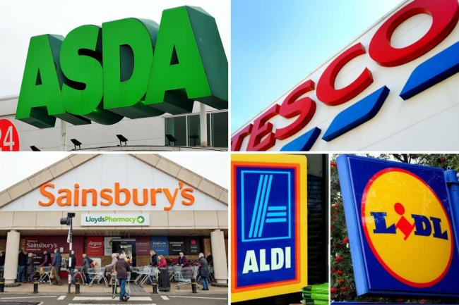 Sainsbury's, Aldi, Tesco and more urgently recalling products over health fears. (PA)