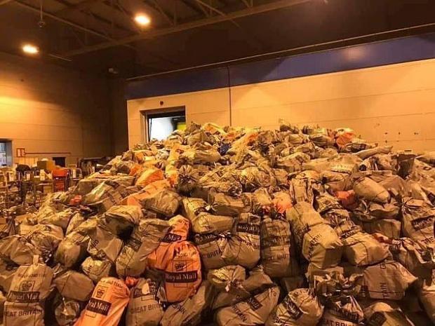 The Bolton News: Montones de entregas de Royal Mail.  Imagen: Pixabay