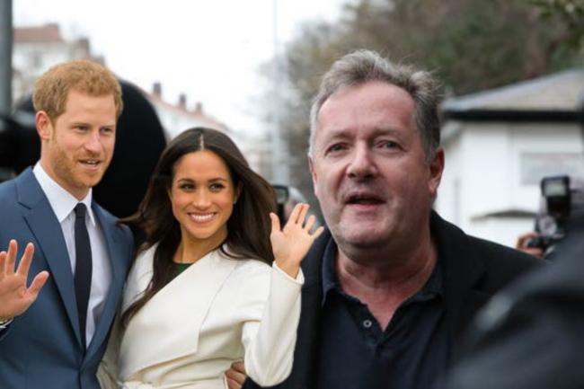 Piers Morgan claims royals thanked him for 'standing up' to Harry and Meghan. (PA/Canva)