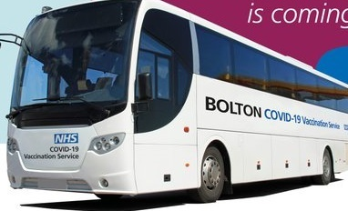 Covid-vaccination bus to take to the road in Bolton | The Bolton News